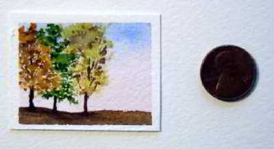 By Dawns Early Light original watercolor painting